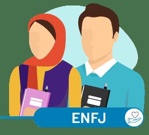 ارتباط ENFJ با سایر تیپ ها