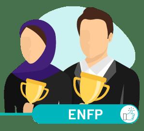 ارتباط ENFP با سایر تیپ ها