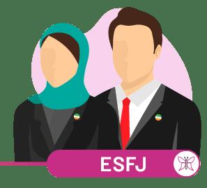 ارتباط ESFJ با سایر تیپ ها