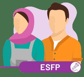 ارتباط ESFP با سایر تیپ ها