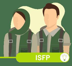 ارتباط ISFP با سایر تیپ ها